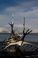 Sun Voyager sculpture at Reykjavik Harbour