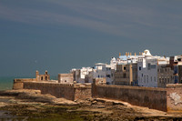 walled city of Essaouira, ancient seaport on Atlantic coast